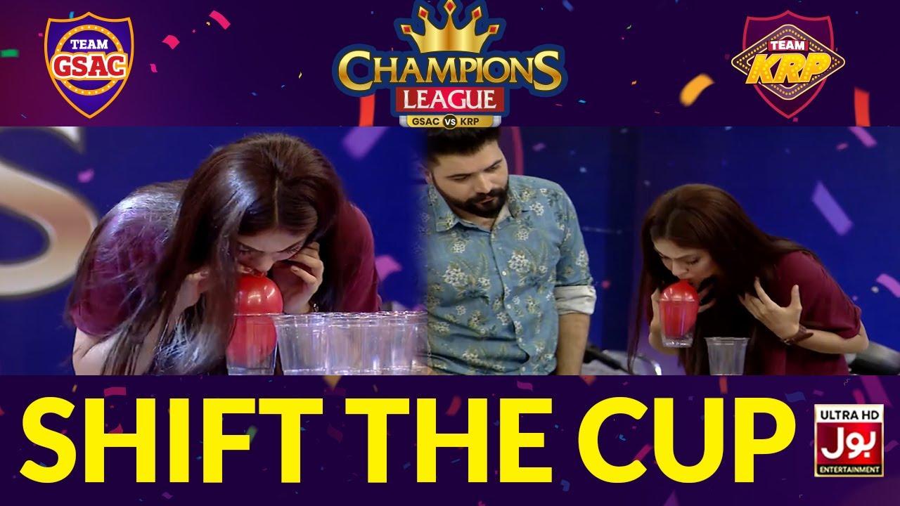 Shift The Cup | Champions League | Game Show Aisay Chalay Ga vs Khush Raho Pakistan