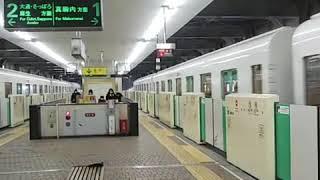 [ツイキャス] 札幌市営地下鉄南北線5000形  503号車  509号車  南平岸発車 (2021.01.06)