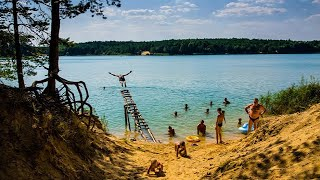 Голубые озера - GoPro Hero4 Black (04.06.2015)(Голубые озера - Черниговская область Empire Of The Sun - Walking On A Dream., 2015-07-29T10:22:17.000Z)