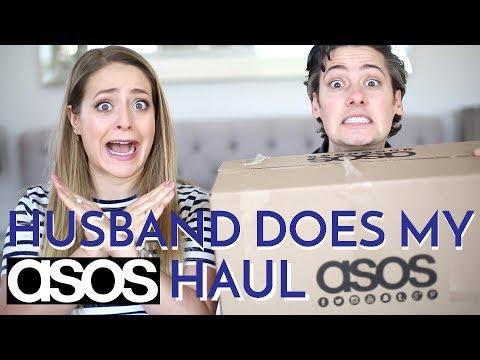 HUSBAND Does My ASOS HAUL | Fleur De Force
