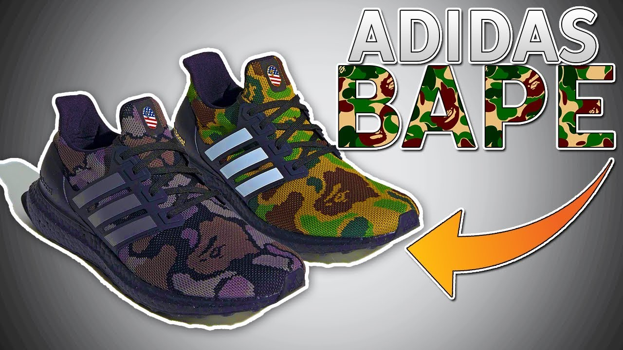 bbd798f23  OFFICIAL  BAPE X ADIDAS ULTRABOOST RELEASE CONFIRMED FEBRUARY 2019! (MUST  COP)