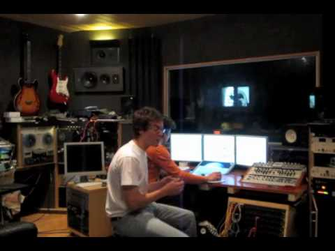 Behind the scenes: The Song Project, mixing sessio...