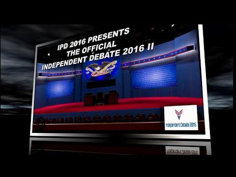 Independent Presidential Debate 2