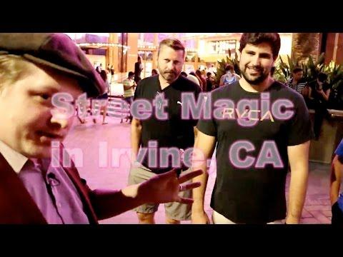 **Balls, Coins, and a Man Purse!** Street Magic in Irvine, CA