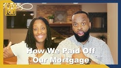 How We Paid Off Our Mortgage On One Income