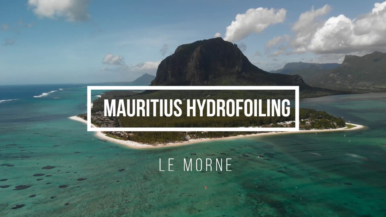 Mauritius hydrofoiling