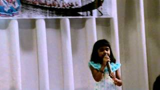 Gia Rose Vincent singing onavillin thamburu