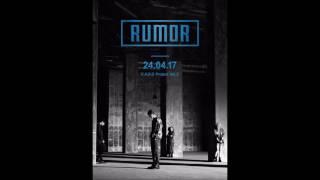 [1 HOUR LOOP] K.A.R.D - Rumor