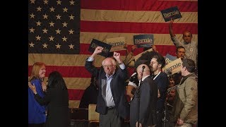 Gambar cover Bernie Sanders reacts to results of the Iowa Caucus - watch live