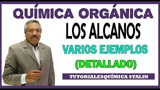 QUIMICA ORGANICA: ALCANOS RAMIFICADOS (CADENA PRINCIPAL, NUMERACION Y NOMENCLATURA)