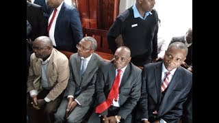 National Land Commission Chair Mohammed Swazuri in Court.