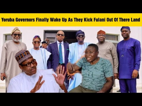 Download Fulani In Yoruba Land On The Run As Yoruba Oba's And Governors Finally Takes Unexpected Action