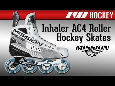 Bauer Mission Inhaler AC4 Inline Roller Hockey Skates