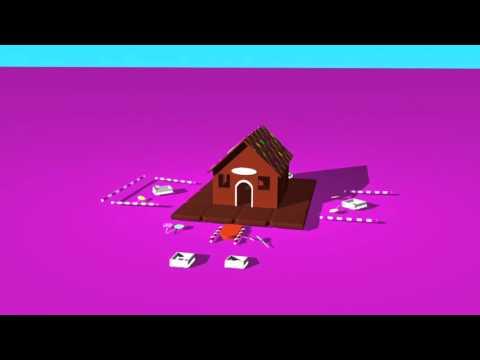 ประกอบ บ้านการ์ตูน - Cartoom little candy home