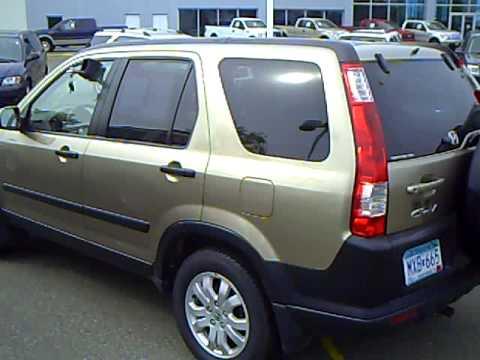 2005 Honda CRV 4WD