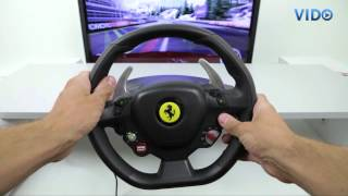 Thrustmaster Ferrari 458 Italia racing wheel for PC/Xbox 360