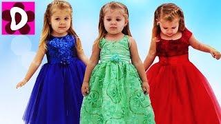 Платье Принцессы на ДЕНЬ РОЖДЕНИЯ Дианы КАКОЕ ЛУЧШЕ? Dress up for Birthday Princess girl Diana