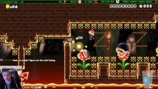 Super Mario Maker - Speedrun Levels Montage #17