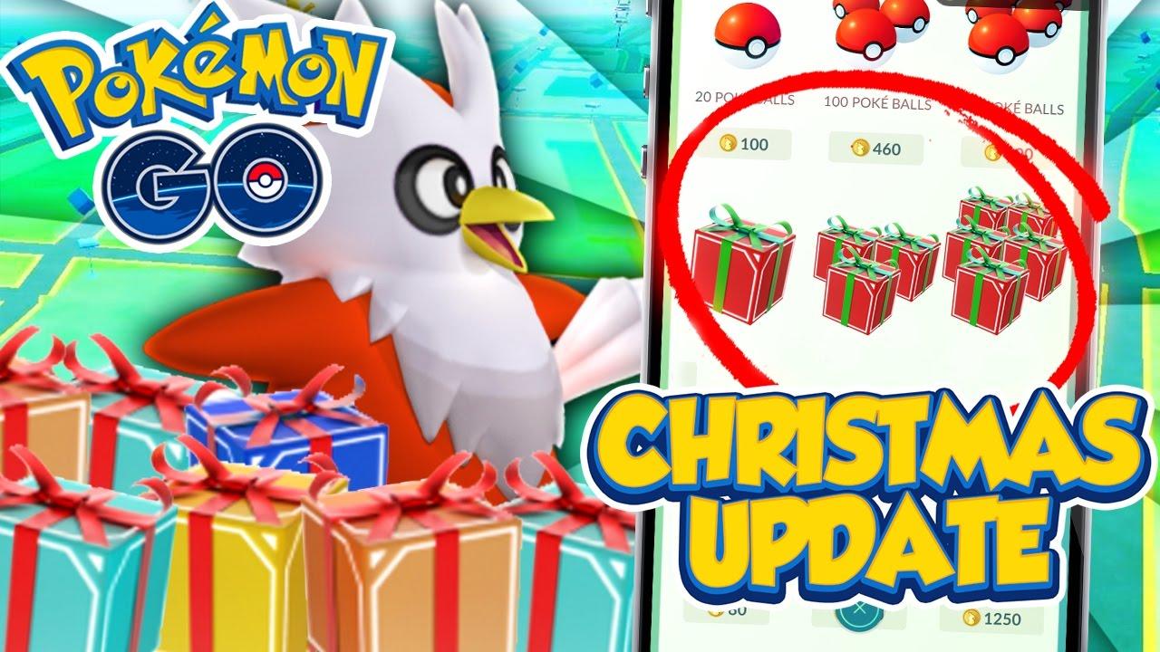 Pokemon Go Christmas Update! - YouTube