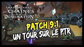 UN TOUR SUR LE PTR DU PATCH 9.1 ! - WOW SHADOWLANDS