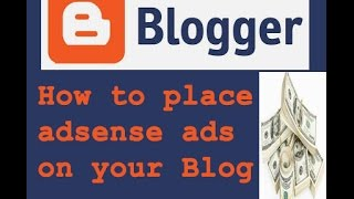 How Place Google Adsense Ads Below All Post Titles in Blogger