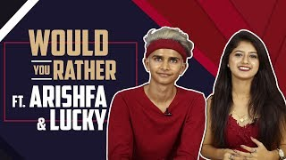 Would You Rather Ft. Arishfa Khan And Lucky | India Forums thumbnail