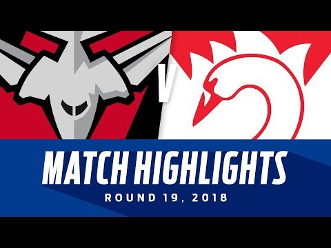 Essendon V Sydney Highlights | Round 19, 2018 | AFL