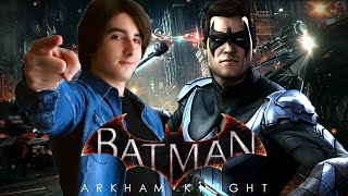 Batman Arkham Knight | DLC Nightwing ITA | Commissariato Sotto Chiave! By GiosephTheGamer