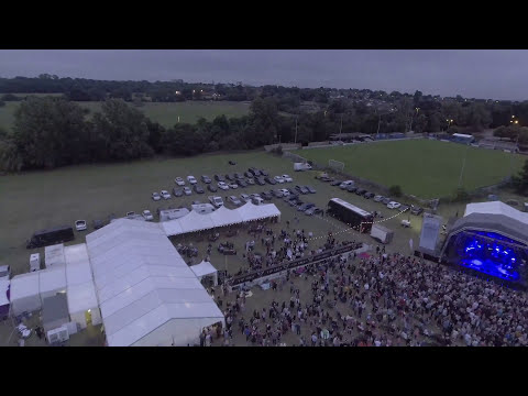 BRENTWOOD MUSIC FESTIVAL BY DRONE 2016