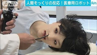 人間と同じような痛みを再現 医療用ロボットが公開(17/03/24)