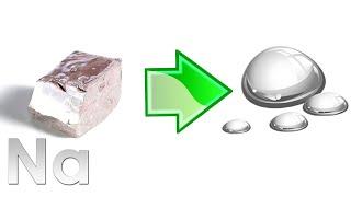 Hiện tượng lạ khi cho natri tác dụng với nước - (Thoisoi VIETSUB)