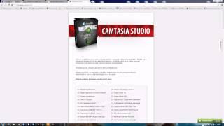 Как создать видео уроки и видео курсы? обучение Camtasia Studio