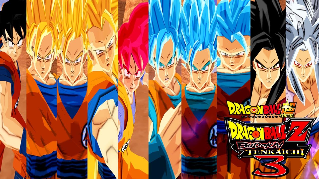 Goku Ssj4 Vs Goku Ssj3: Goku SSJ,SSJ2,SSJ3,SSJ4,SSJ5,SSJGOD,SSJBLUE,SSJ2Blue And