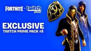 NEW *FREE* TWITCH PRIME PACK 3 (FREE SKINS) Fortnite How To Get FREE SKIN BUNDLE | RELEASE DATE Hint