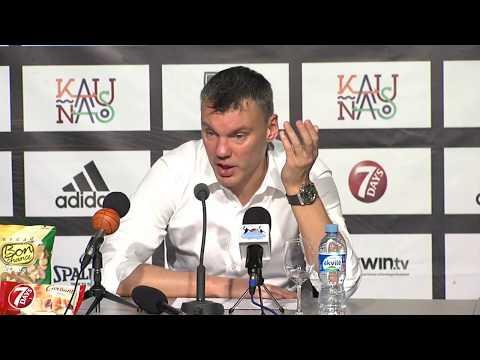 EuroLeague: Žalgiris Kaunas –Anadolu Efes press conference