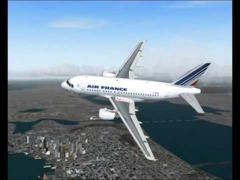 Piloter un avion sur fly simulator pilotage d 39 avion fsx for Interieur d avion air france