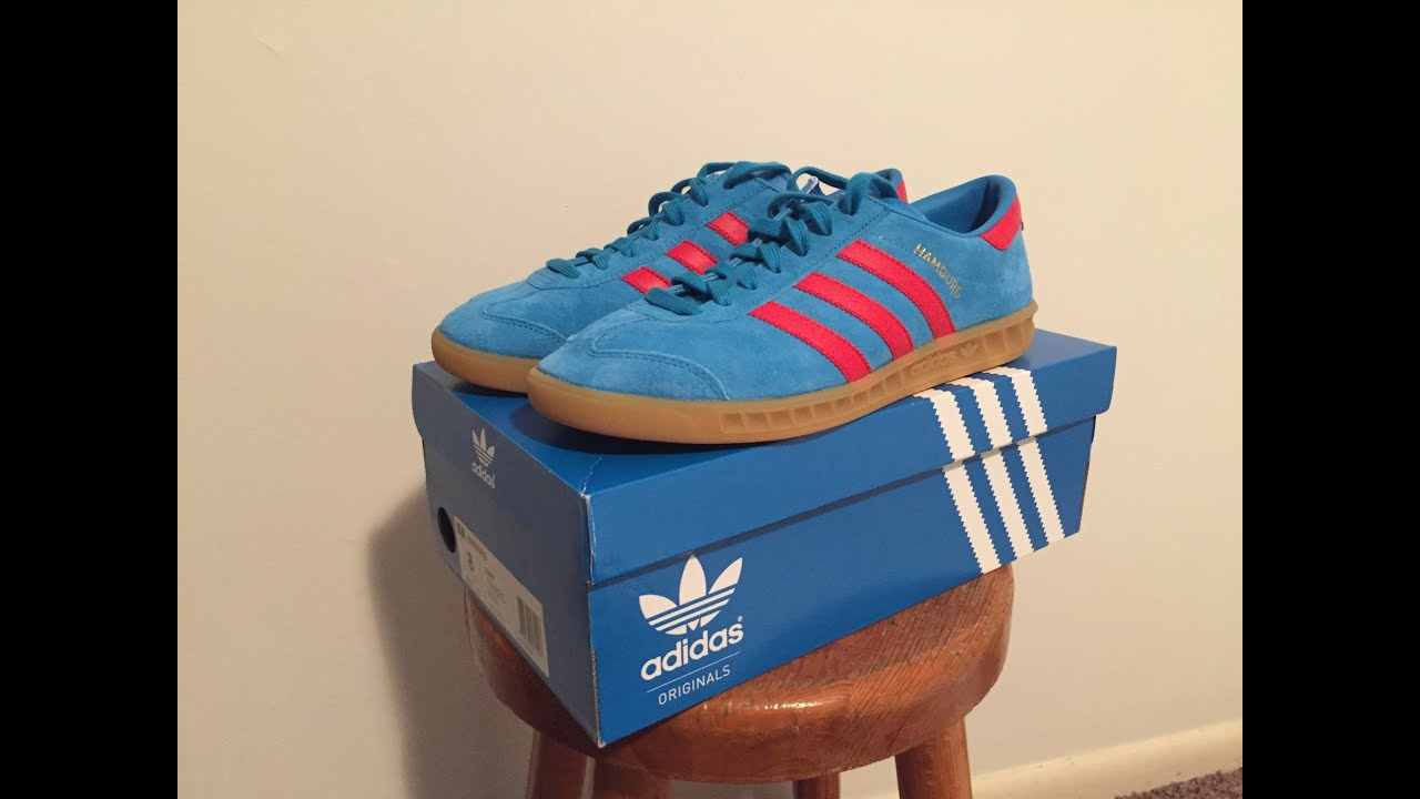 Precursor silencio hotel  Adidas Hamburg (Sonar Blue/ Red) - YouTube