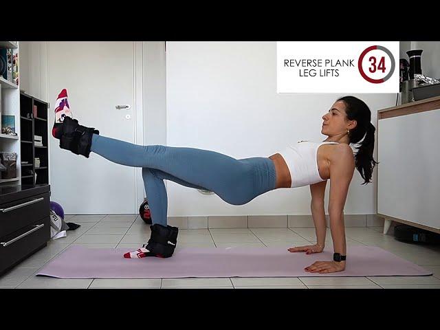 30 min GAMBE E GLUTEI - allenamento completo a casa con pochi attrezzi | Silvia Fascians