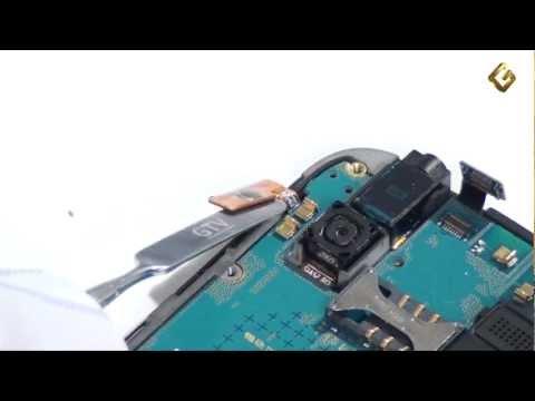 Samsung Galaxy Gio S5660 - как разобрать смартфон, из чего состоит