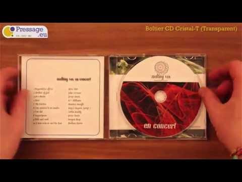 PRESSAGE.EU - Conditionnement : Boîtier CD Cristal-T (Transparent)