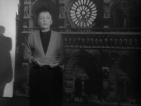 "Edith Piaf Cantando ""L'Hymne à L'amour"""
