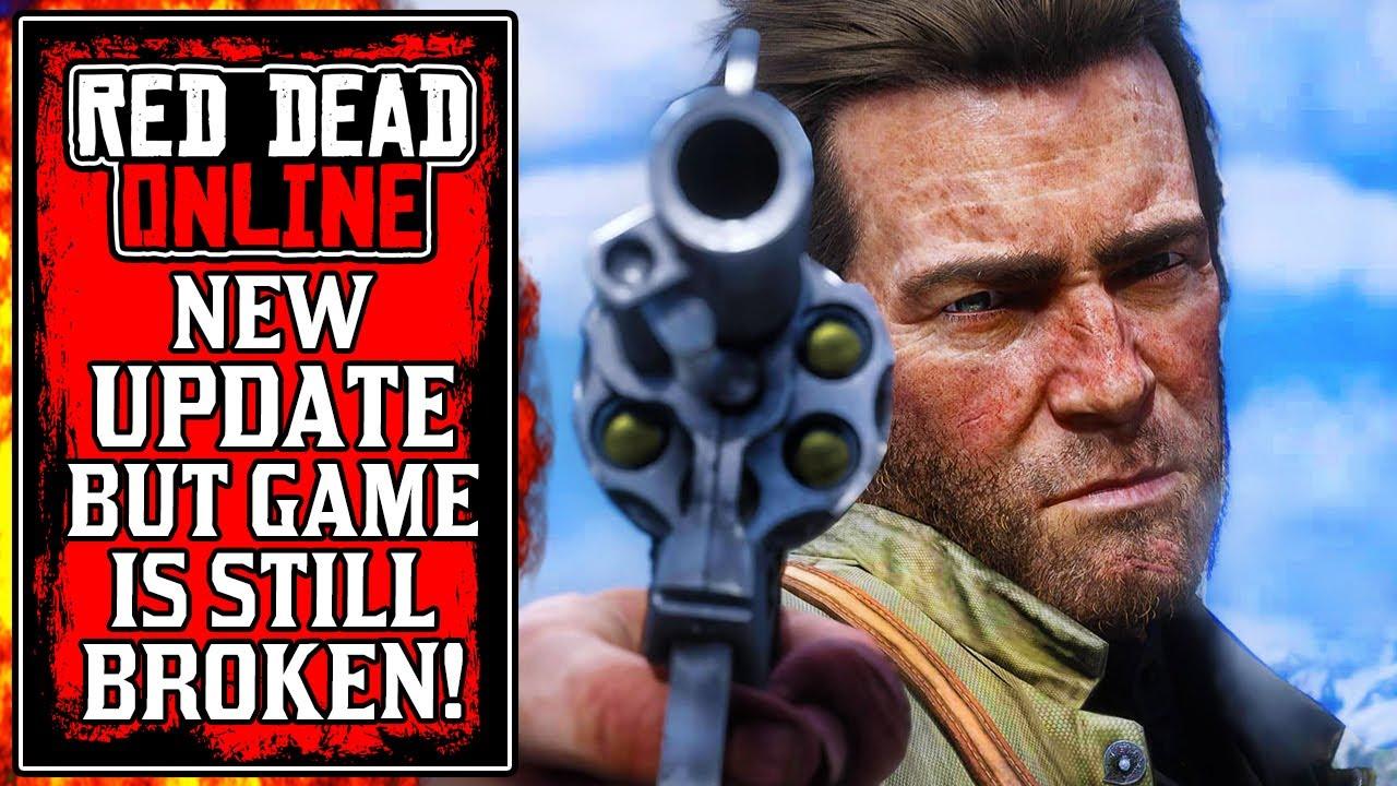 It's TOTALLY BROKEN.. Rockstar's NEW Red Dead Online Update Today (RDR2) thumbnail