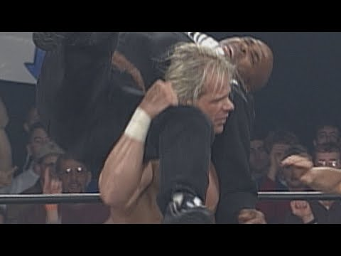 Lex Luger punishes Buff Bagwell and Vincent in the Torture Rack: WCW Monday Nitro, Dec. 1, 1997