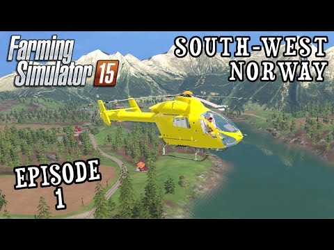 Let's Play Farming Simulator 2015 | South West Norway | Episode 1