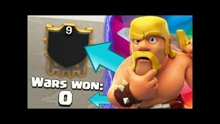 Wet 9 CLAN WITH *0 WAR WINS* in Clash Of Clans - Strange Clans In CoC 2018