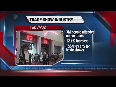 Las Vegas trade shows experience growth