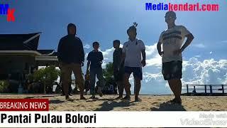 Redaksi dan Wartawan Mediakendari.com Rekreasi Di Pulau Bokori Island