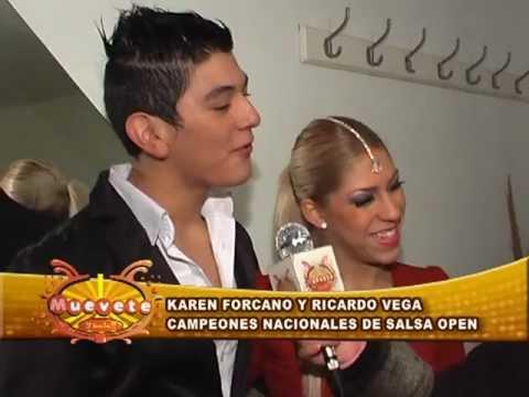 KAREN FORCANO Y RICARDO VEGA EN SALTA - 2012