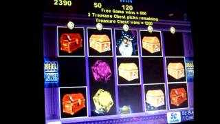 Wizard Magic Bonus!!!! - 5c Aristocrat Video Slots
