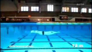 Michael Phelps qui nage le CRAWL NAGE LIBRE DOS PAPILLON  filmé en images rapides 1000 fps